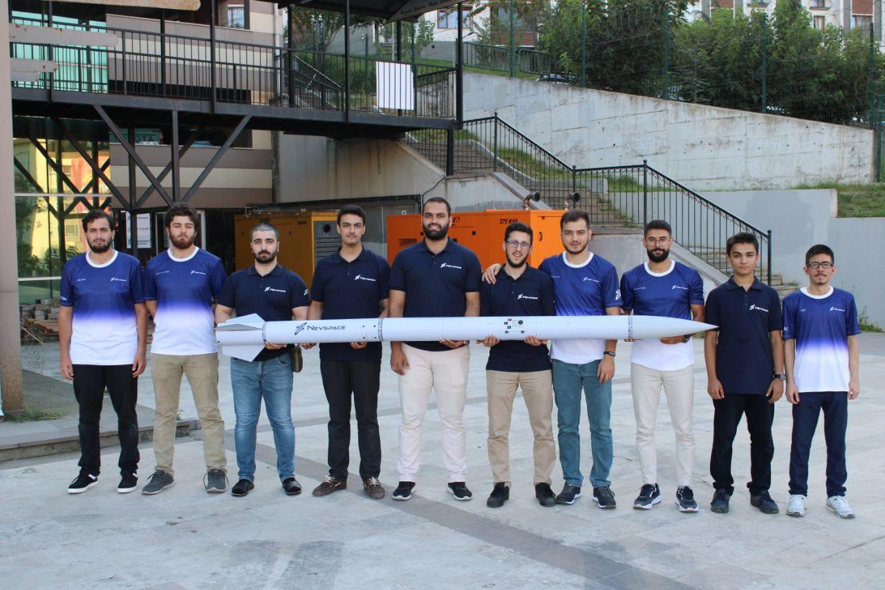 Nevspace Havacılık Teknolojileri ekibini